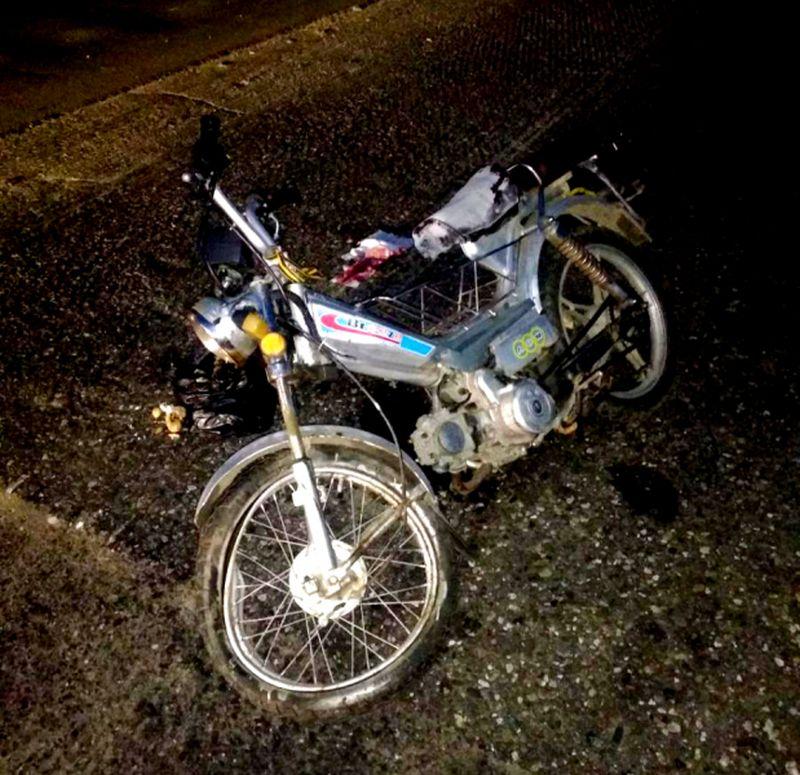 Пьяный водитель мопеда устроил ДТП в Кохме