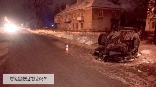 В Вичуге пьяный водитель протаранил две машины на Богдана Хмельницкого