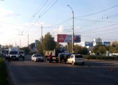 Столкновение на красный свет на перекрестке Домостроителей-Кохомское шоссе