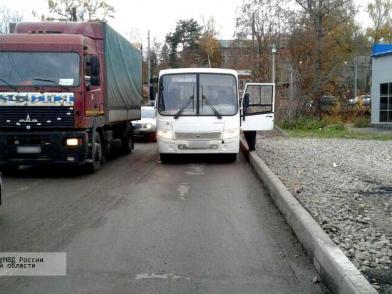 В Кохме была травмирована пассажирка маршрутки