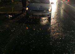 Автоледи сбила человека на переходе в ДТП на Рабфаковской
