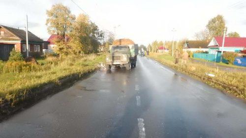 В Пучеже грузовик насмерть сбил велосипедиста