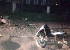 В Вичугском районе дорогу не поделили скутерист с мопедистом
