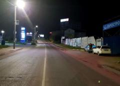 На Слесарном переулке «ВАЗ» сбил мужчину, который шел по тротуару