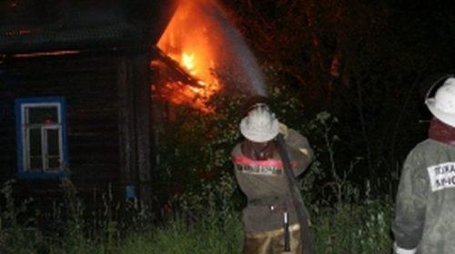 В Вичуге на пожаре пострадала женщина 85-лет