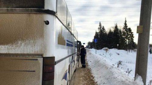 При проверке пассажироперевозчиков задержали рейсовый автобус