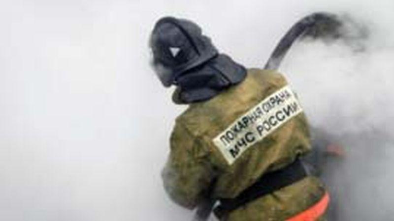 В пожаре в Родниковском районе пострадал человек
