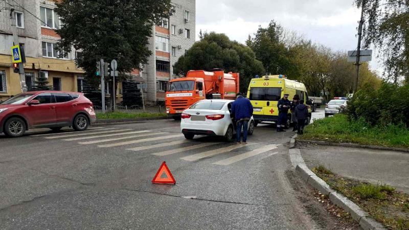 В Иванове водитель «Киа» стал участником двух аварий и умер после ДТП