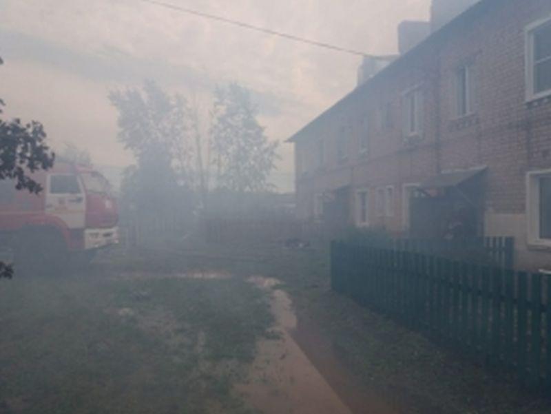 Крупный пожар в Вичуге уничтожил 600 квадратов площади